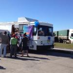 Caminhoneiros fazem testes de saúde no Porto de Paranaguá